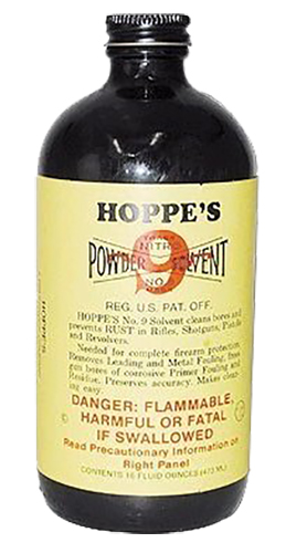 Hoppes 916 No.9 Nitro Powder Solvent Pint 10pk