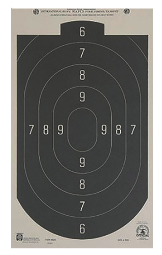 Hoppes B-24 50 Feet Rapid Fire Silhouette Targets 20 Pack