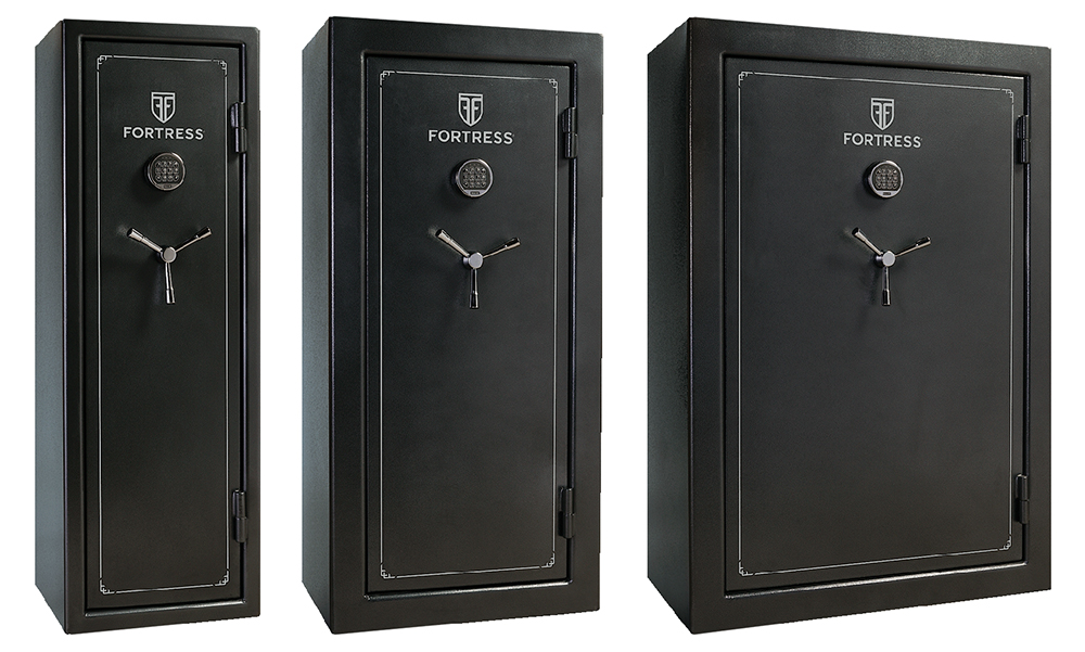 Heritage Safe FS14/30/45S Fires 3 Pack Electronic Lock Gray