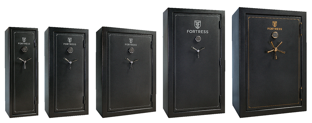 Heritage Safe FS14/30/45S/60/60S Fortess Multi-Pack (5) Gun Safes Elec Lock Gray