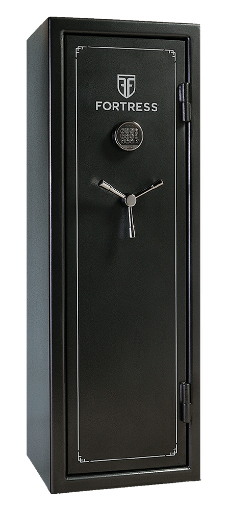 Heritage Safe FS14 Fortress14-Gun Safe Elec Lock Gray