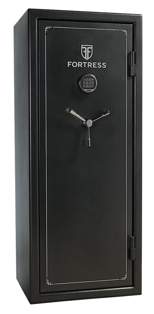 Heritage Safe FS18 Fortress18-Gun Safe Elec Lock Gray