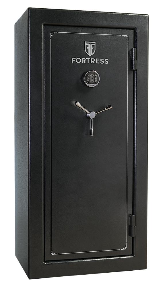 Heritage Safe FS30 Fortress 30-Gun Safe Elec Lock Gray
