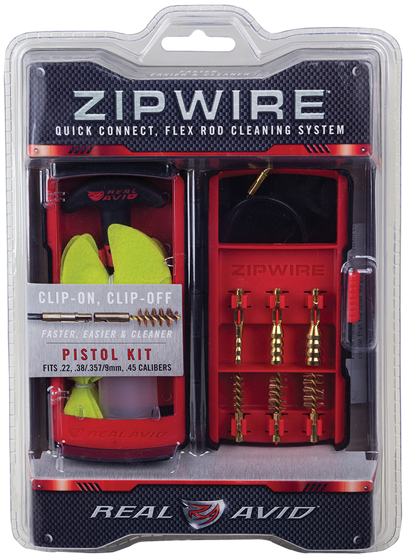 Real Avid/Revo AVZW101P Zipwire Cleaning Kit  Size 12.75×9.37×2.5 1 kit