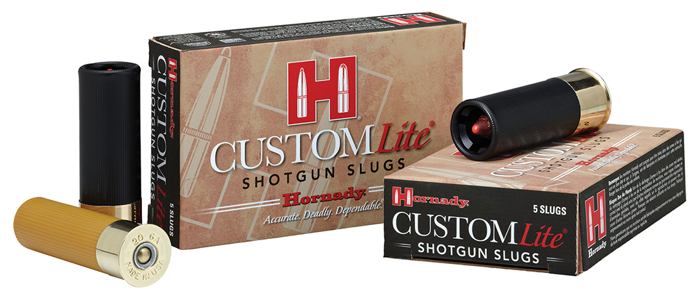 Hornady 86233 Custom Lite FTX 20 Gauge 250GR Slug 5Box/20Case