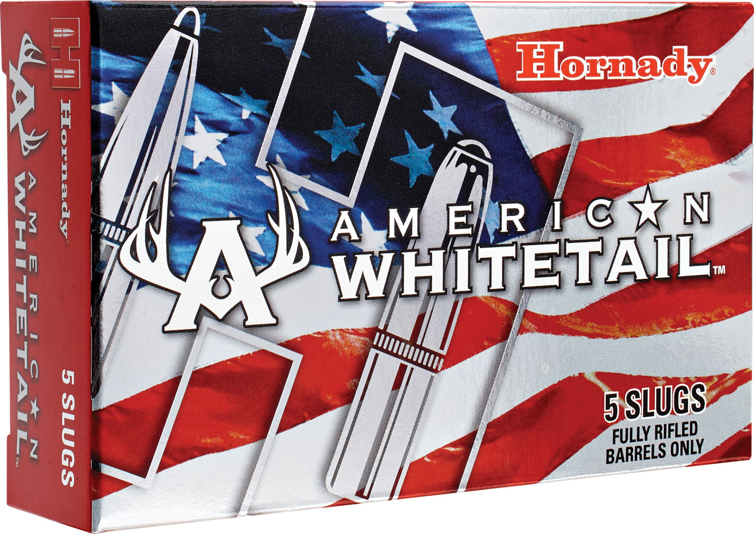 Hornady 86271 American Whitetail Interlock 12ga 325 GR Slug 5Box/20Case