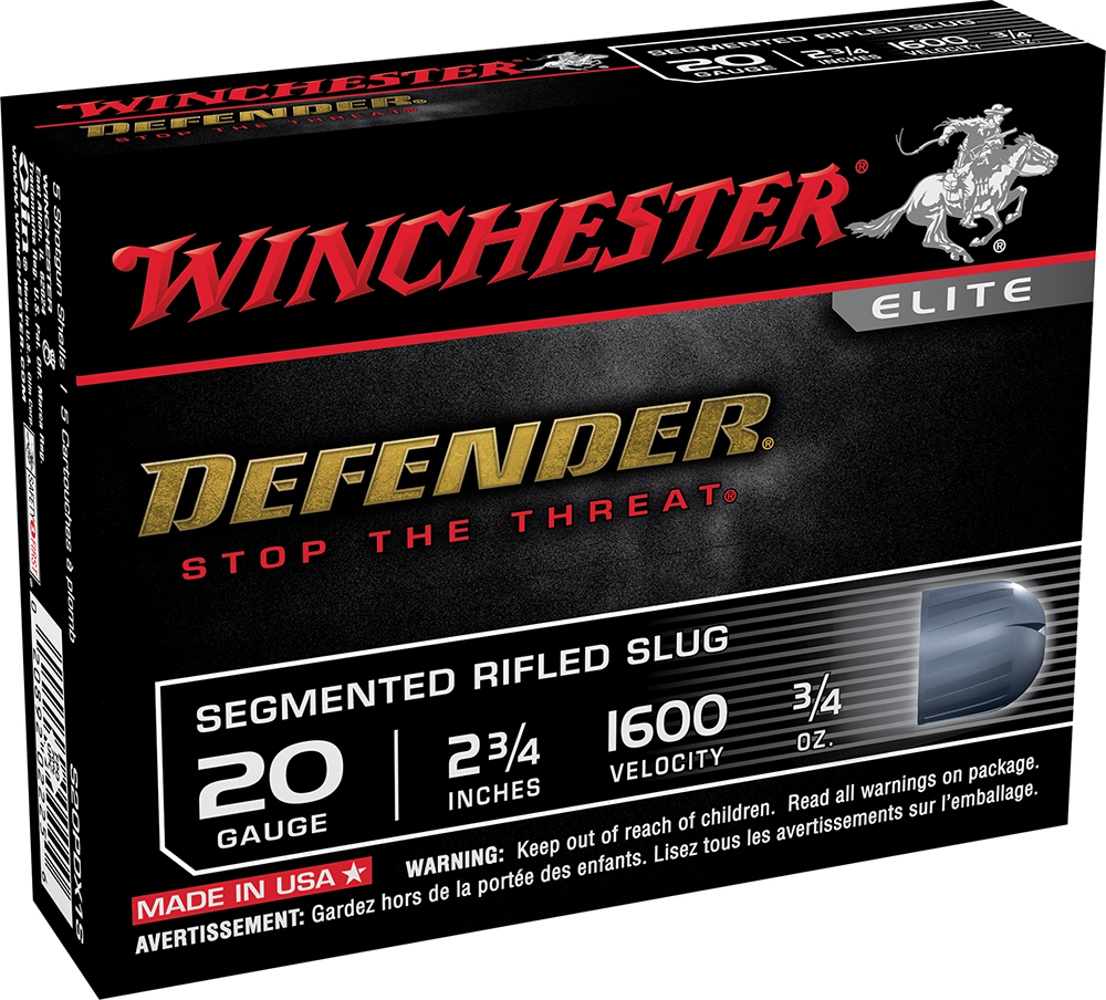 Winchester Ammo S20PDX1S Defender Personal Defense 20ga 2.75
