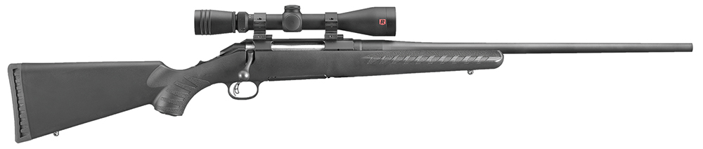 Ruger 6951 American 30-06 Springfield 22″ 4+1 w/Redfield Scope Blk Comp Stk Blk