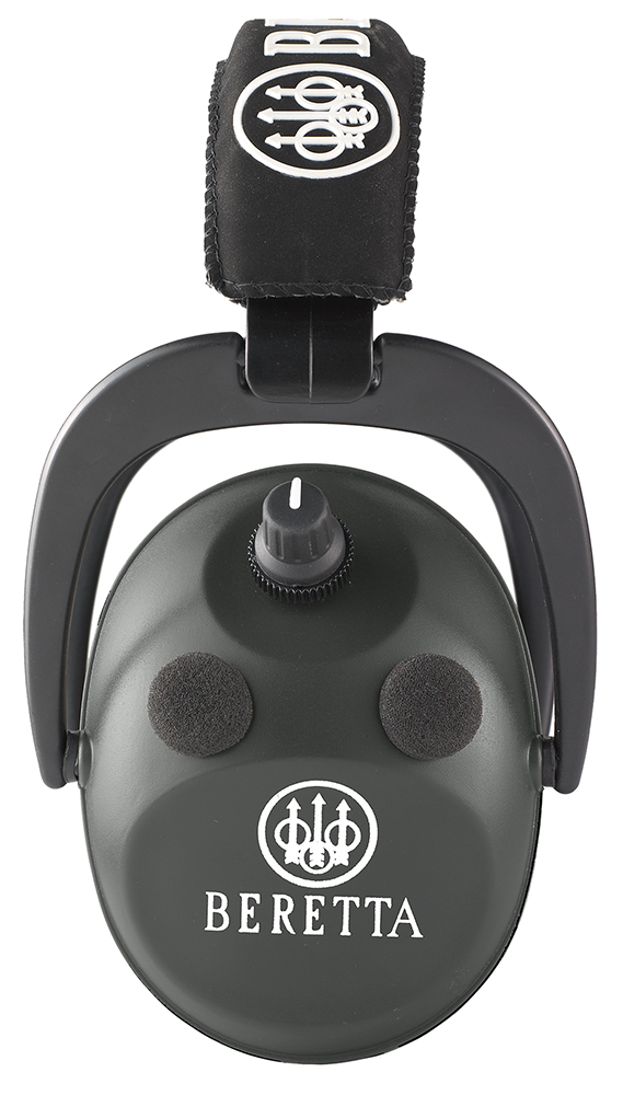 Beretta CF2100020999 Hearing Protection Electronic Earmuff AFT 26 dB Black