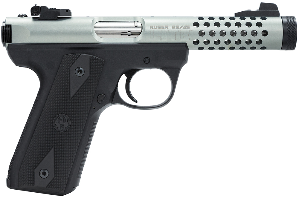 Ruger 3906 P45MK3ALRPFLVU 22/45 Lite 22 Long Rifle 4.4