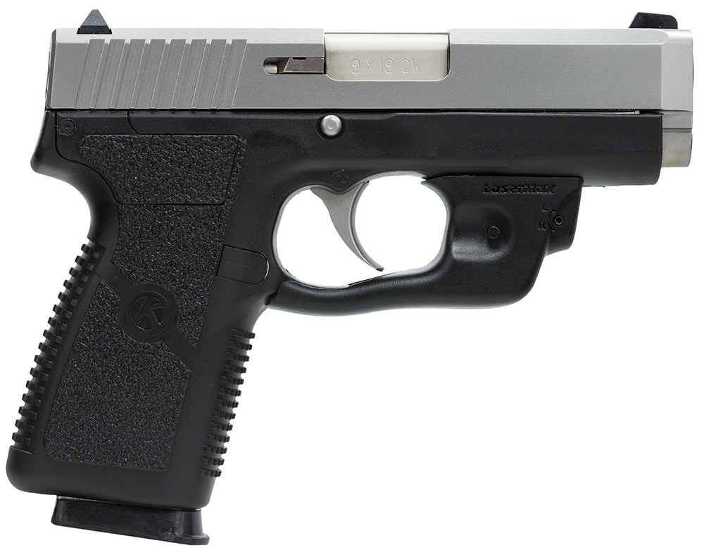 Kahr Arms CZ9093LM CW9 LaserMax Red 9mm 3.6″ 7+1 Black Polymer Grip SS