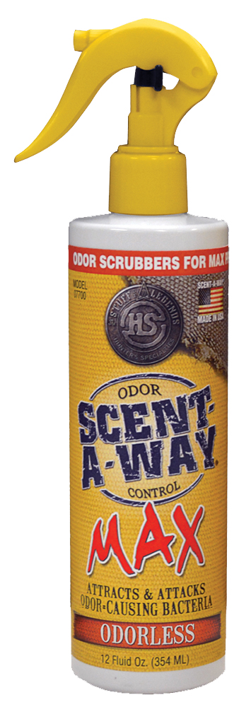 Hunters Specialties 07721 Scent-A-Way Max Odor Eliminator All 12 fl oz