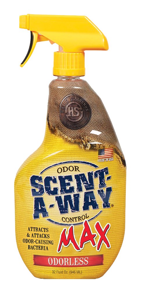 Hunters Specialties 07722 Scent-A-Way Max Odor Eliminator All 32 fl oz