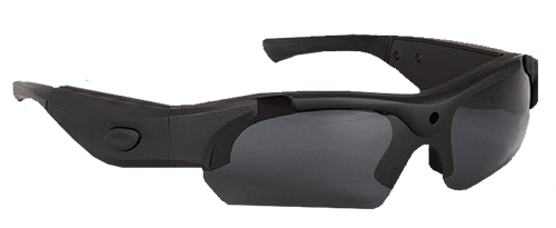 Hunters Specialties 50036 i-Kam Xtreme HD Video Camera Glasses 8GB 1280x720 Blk