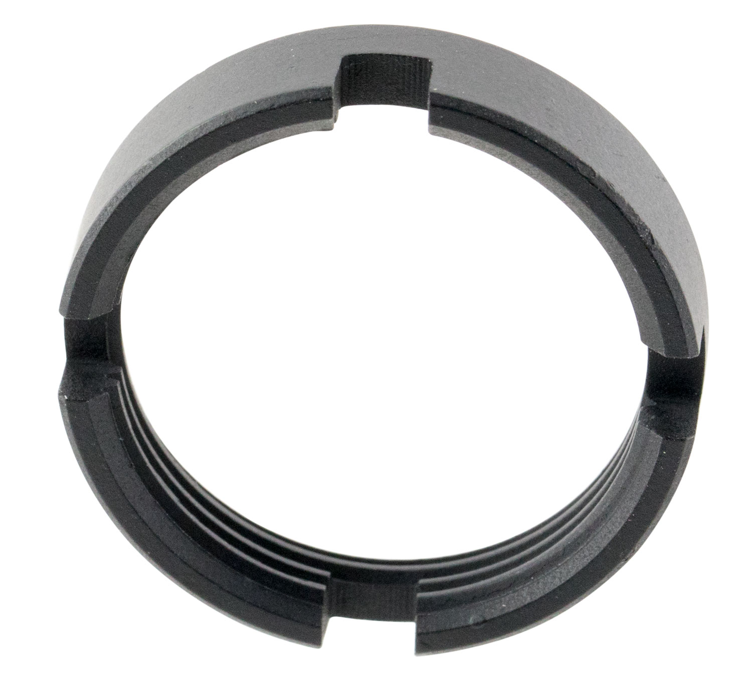 Advanced Technology A5101020 AR-15 Castle Nut Steel Black