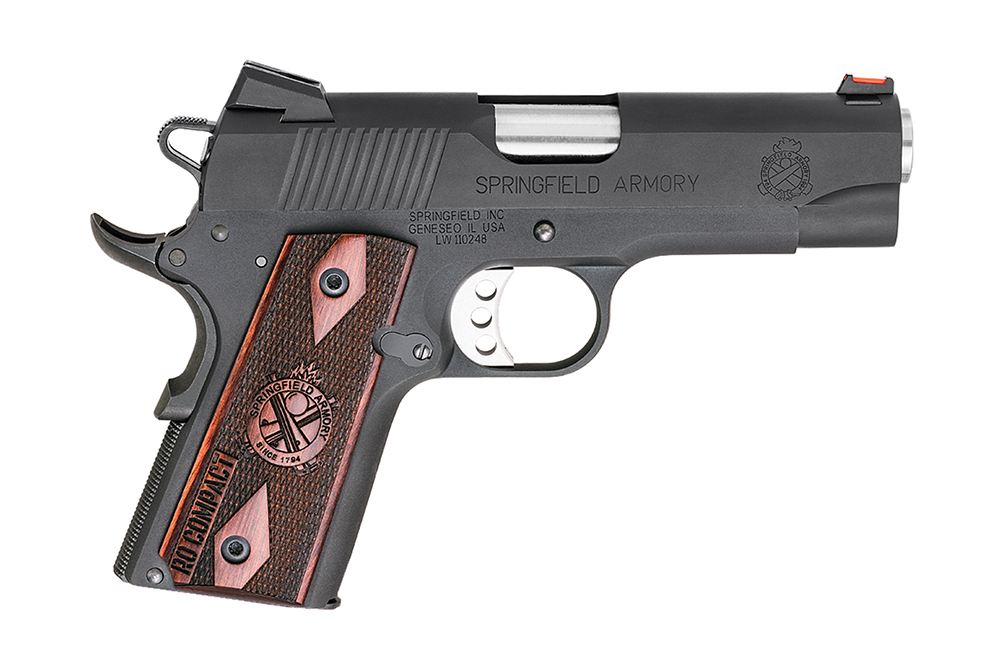 SPRINGFIELD 1911 RANGE OFFICER 45 ACP COMPACT Model Number PI9126LP