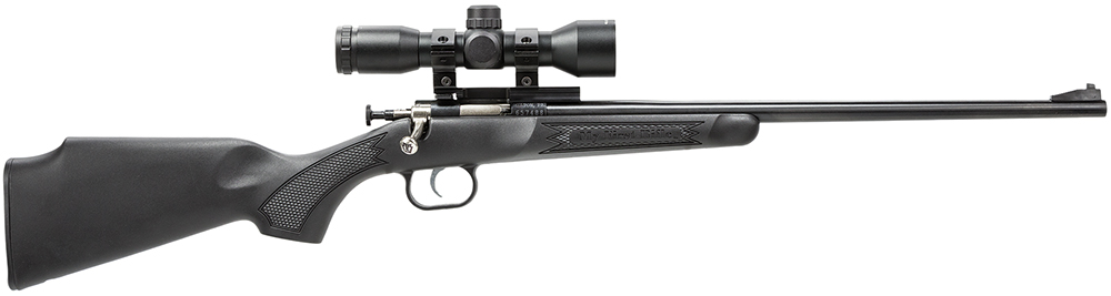 Crickett 240BS Single Shot 22LR w/Scope Bolt 16.1