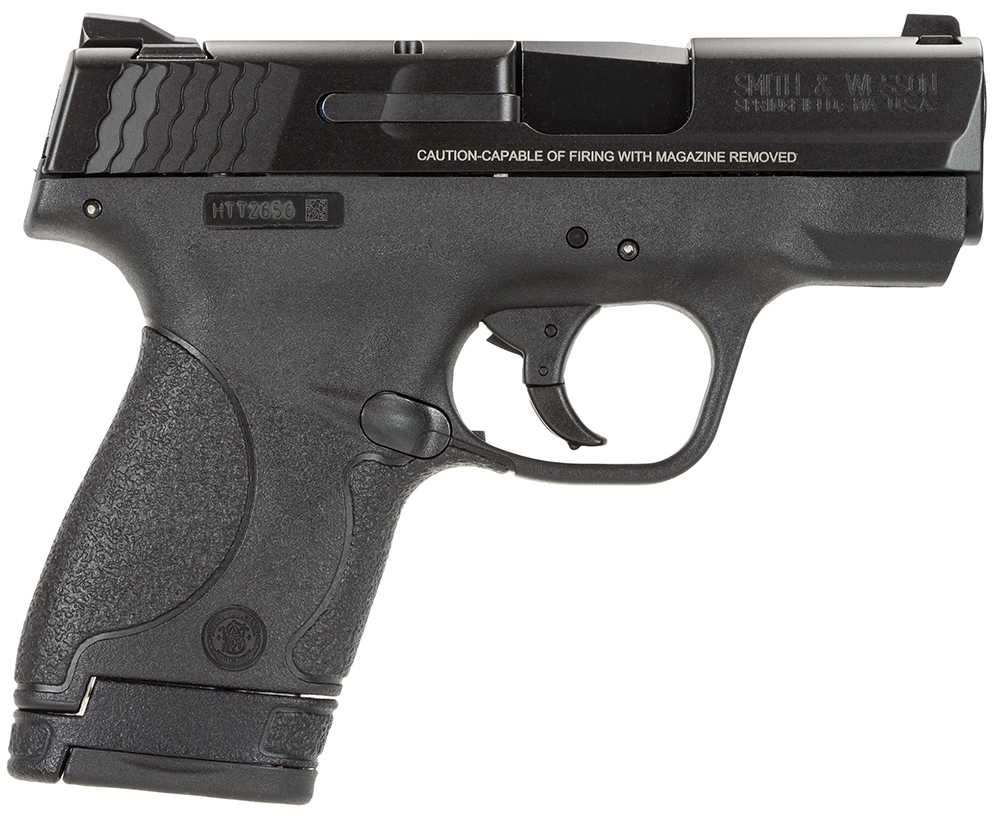 S&W M&P SHIELD 9MM - NO MANUAL SAFETY - 7-8 RD 10035