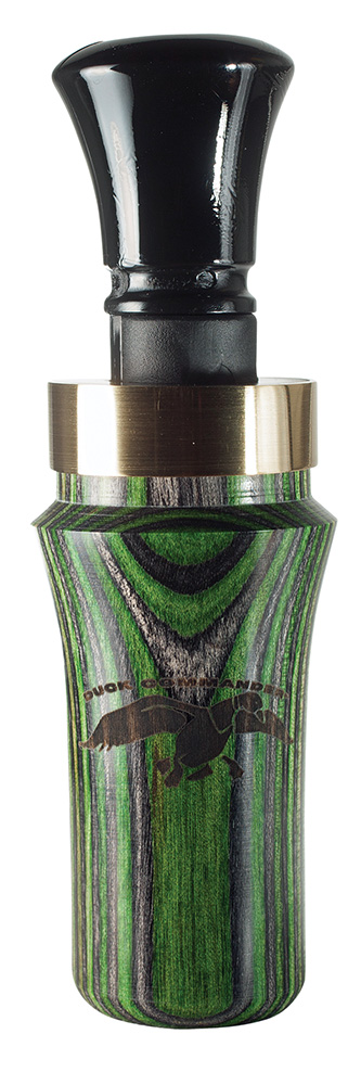 Duck Commander DCDWM Moss Dymond Wood Duck Calls Double Reed Wood Green