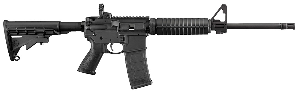 RUGER AR-556 5.56 NATO 16.1 FLD 30R BLKSYN Model Number: 8500 (In-store Pickup Only, One Purchase Per Customer)