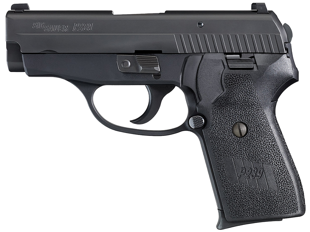 Sig 2399BSSDAK P239 DAK Gen 2 DAK 9mm 3.6″ 8+1 Black Poly Grip Black