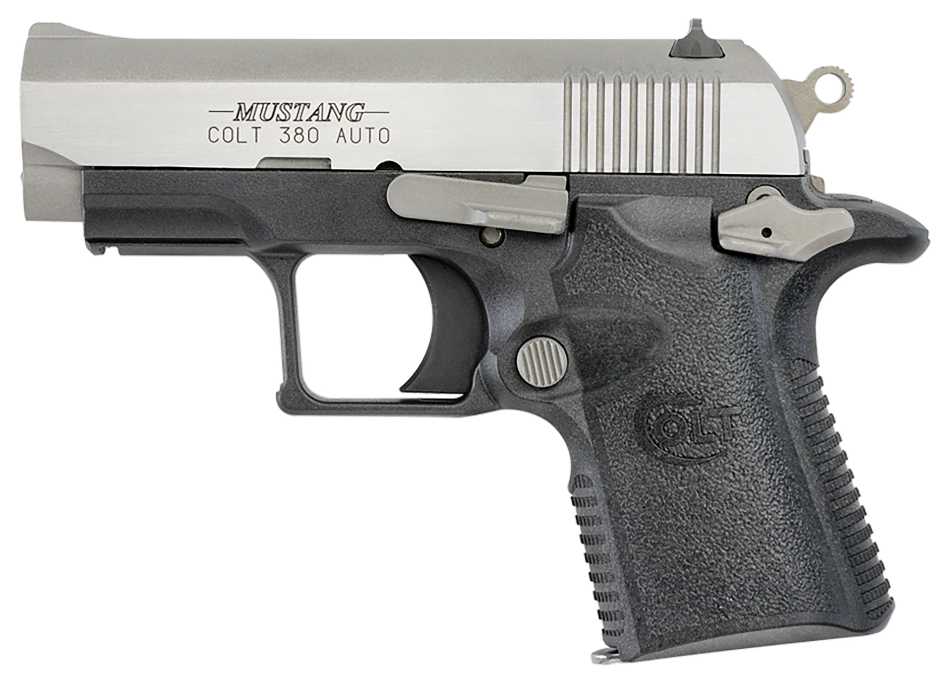 "COLT MUSTANG LITE 380 ACP 2.75"" TWO TONE FIXED SIGHTS"
