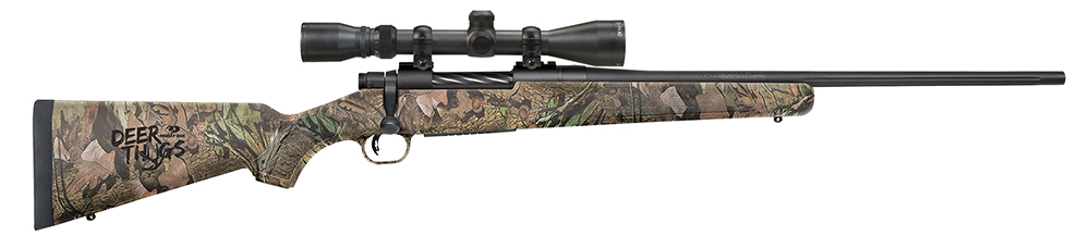 Moss 27920 Patriot Bolt 30-06 Sprg 22″ 5+1 3-9×40 Scope Syn MO BreakUp Stk Blued