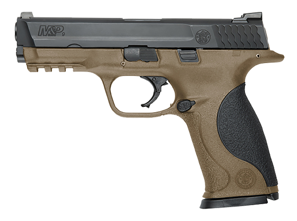 S&W M&P 9MM 4.25 17RD FDE