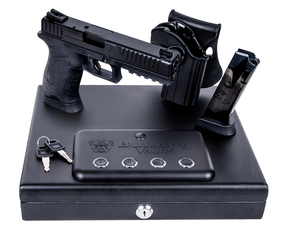 DIA DB9FSKIT  9MM  SAFE/HOLST/MAG  BLK