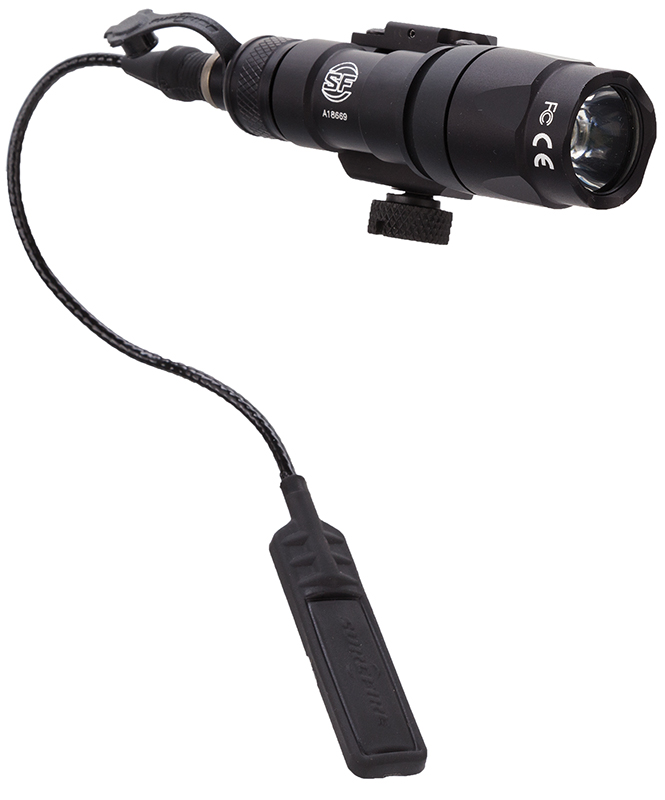 Surefire M300ABK M300A Mini Scout Light LED WeaponLight 3V 110 Lumens Black Alum