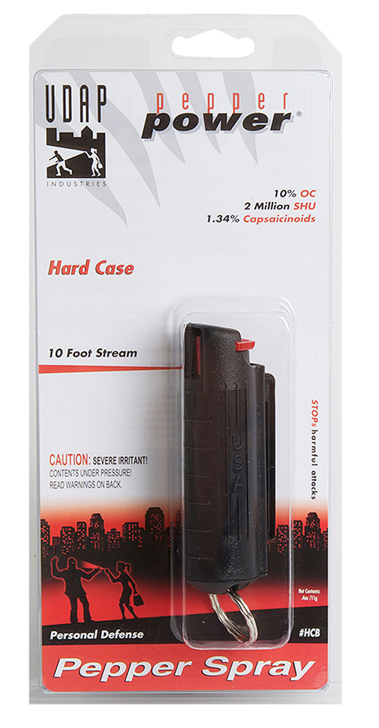 UDAP HCB    PEPPER SPRAY 11G HARD CASE