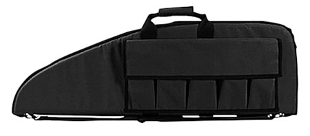 NcStar CV290742 Gun Case 42″ Foam-Lined PVC Tactical Nylon Black