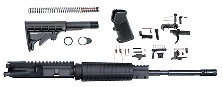 ATI ATIRKT03 5.56 Rifle Upper Kit 223/5.56 NATO 16.0″ 6-Pos Collapsible Stk Blk