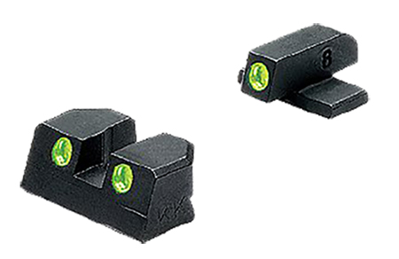Meprolight 11410 Tru-Dot NS Fixed Springfield XD 9/40 4″/5″ Tritium Green F/R