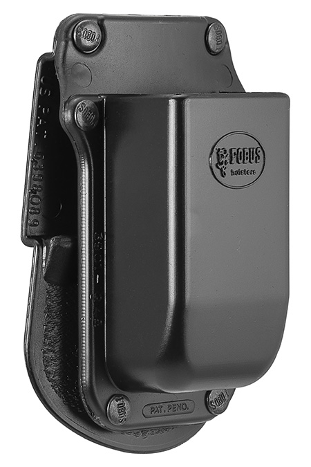 Fobus 3901G45 SNGL MAG Pouch Black Plastic