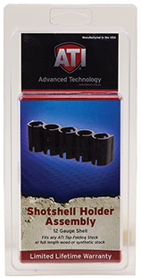 Advanced Technology SHO0500 Holds 5 Additional Shotshells Plastic Black