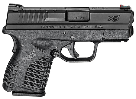 Springfield XDS9339BE XD-S Essential 9mm DAO 3.3″ 7+1 Polymer Black