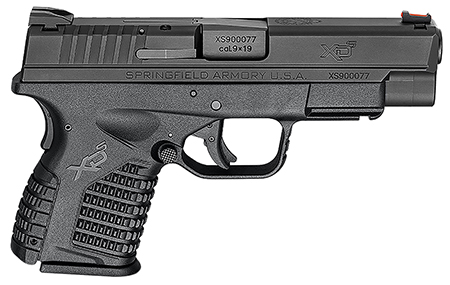 Springfield Armory XDS9409BE XD-S Essential 9mm DAO 4″ 7+1 Black Polymer Grip