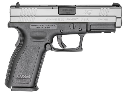 Springfield XD9302 XD Essential 4″ Full Size .40SW DAO 4″ 10+1 Blk Poly/SS