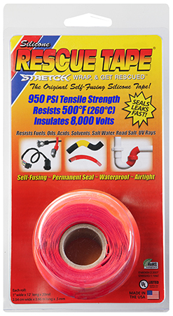 """HP USC02  RESCUE TAPE RED    1""""X12' 24"""