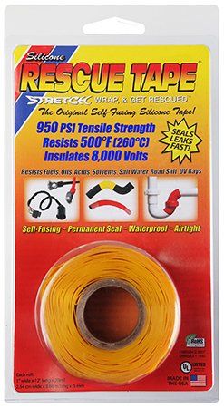 """HP USC05  RESCUE TAPE YEL    1""""X12' 24"""