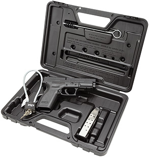Springfield XD9102HC XD Essential Package DAO 40S&W 4″ 12+1 Poly Grip/Frame Blk