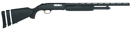 Mossberg 54210 500 Pump 20 ga 22″ 3″ Black Synthetic Blue Finish
