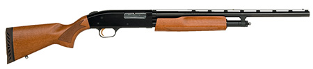 Mossberg 57110 505 Youth Pump 20 ga 20″ 3″ AccuSet Chokes Hardwood Blue Finish