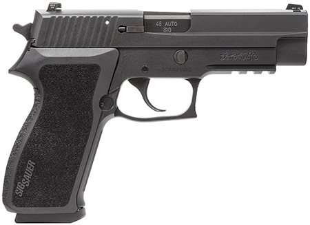 Sig Sauer 220R45BSS P220 45ACP 4.4″ 8+1 Night Sights Black Poly Grip Nitron
