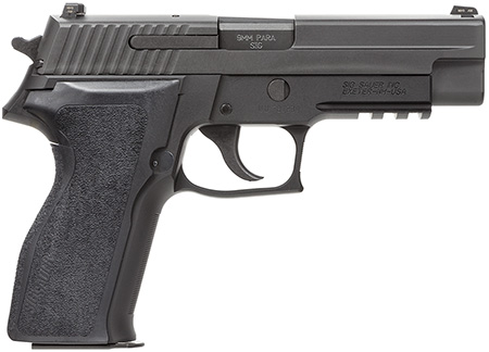 Sig Sauer E26R9BSS P226 DA/SA 9mm 4.4″ 15+1 NS Black Ergo Grip Black