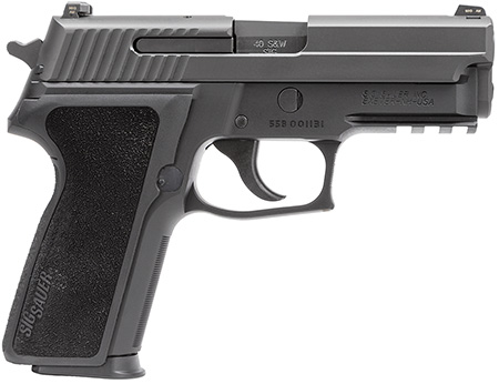Sig Sauer E29R40BSS P229 Std DA/SA 40S&W 3.9″ 12+1 NS Blk Poly Grip Blk SS