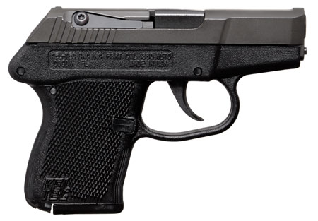 Kel-Tec P3ATBBLK P-3AT DAO 380 ACP 2.75″ 6+1 Black Poly Grip Blued