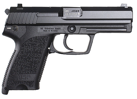 H&K M704501A5 USP45 DA/SA 45ACP 4.25″ 12+1 Modular Synthetic Grip Blued