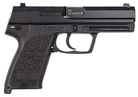 HK M709001A5 USP9 DA/SA 9mm 15+1 4.25″ Modular Synthetic Grip Blued